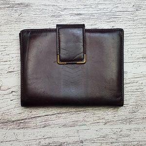 VTG Princess Gardner leather wallet